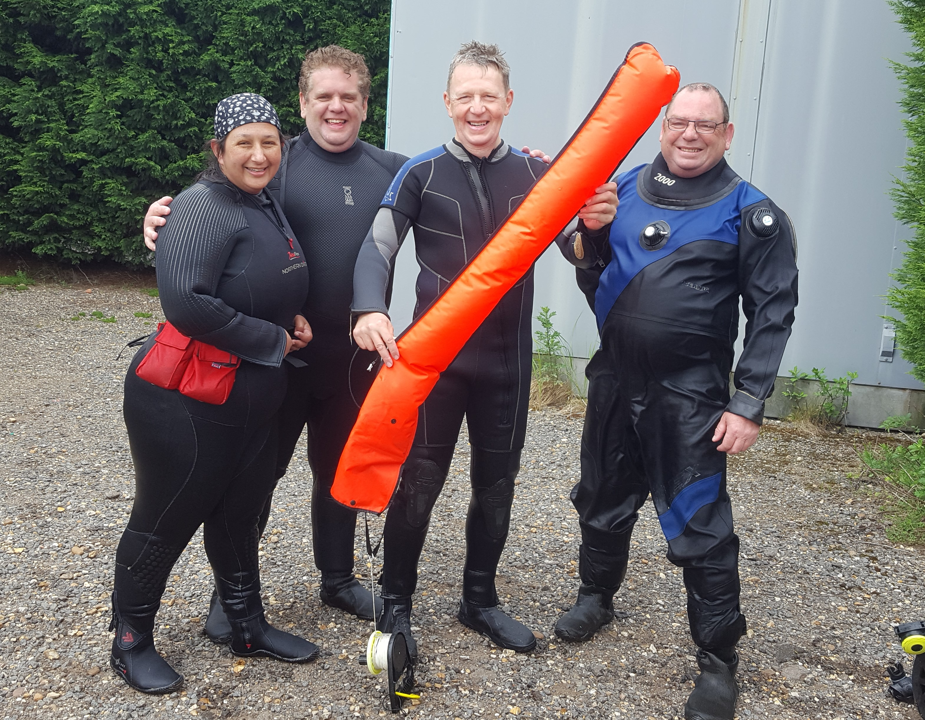 padi advanced course delayed surface marker buoy (DSMB) course