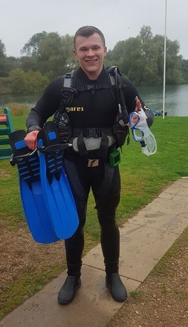 PADI Scuba diving training Bedfordshire, Hertfordshire and Cambridge