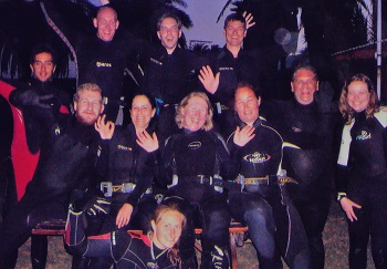 PADi advanced course night diver