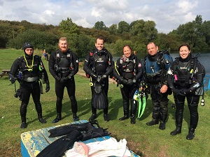learning to scuba dive in the uk