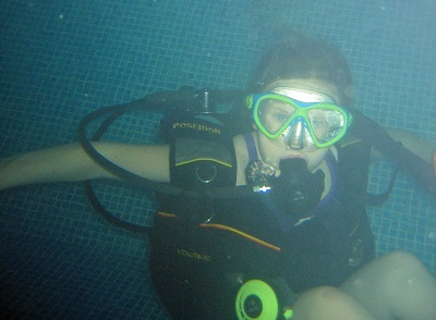 children scuba diving bubblemaker courses