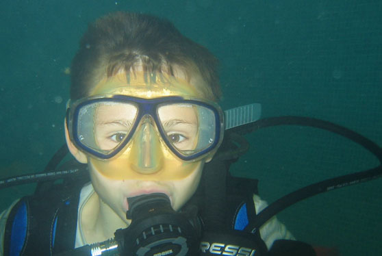padi master seal team course for children
